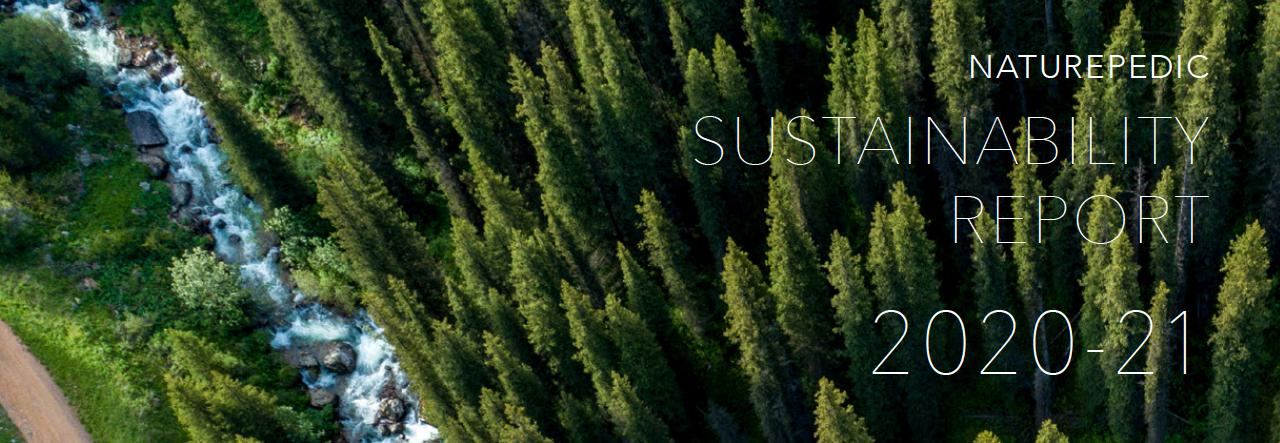 naturepedic earth day sustainability report
