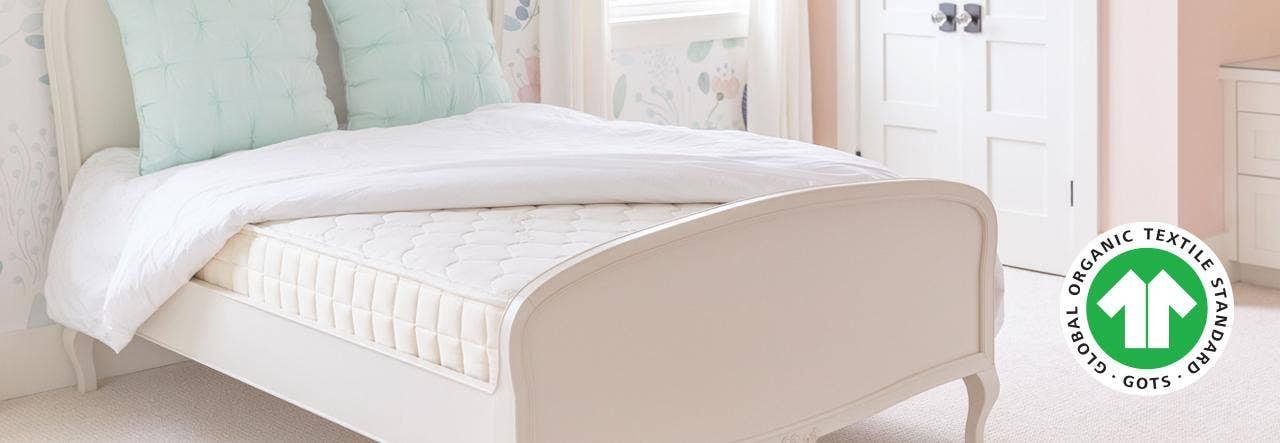 GOTS certified naturepedic verse organic mattress