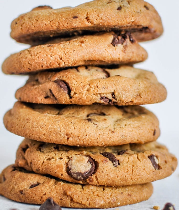 Almond-Based Butter Chocolate Chip Cookie Recipe