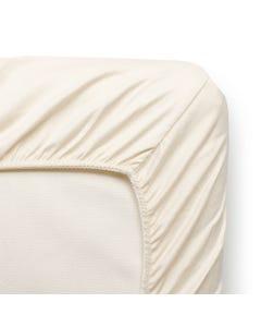 Organic Cotton Ivory Crib Sheet