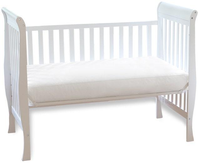 Mattress in crib