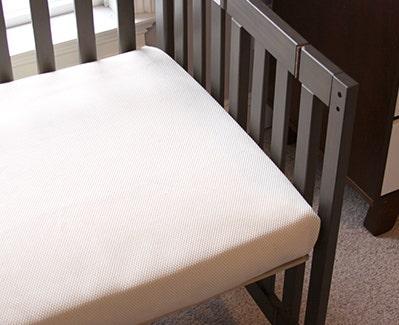 Organic Breathable Mini-Crib Mattress