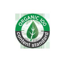Organic 100 Content Standard Logo