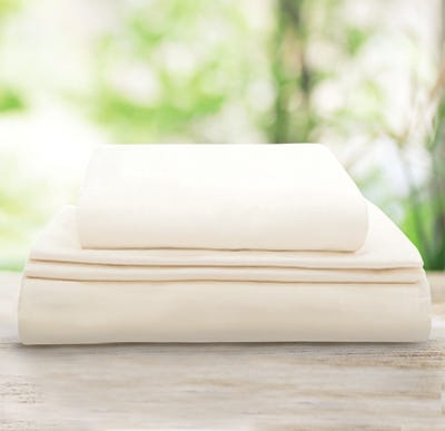 Organic Sheet Set on Window Sil