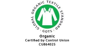 GOTS Logo - Certified Organic by Control Union 864025